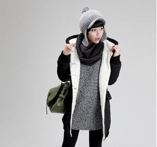 挑选女式冬季帽子
