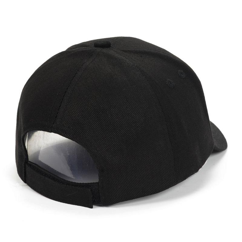 【高普服饰】纯黑色棒球帽