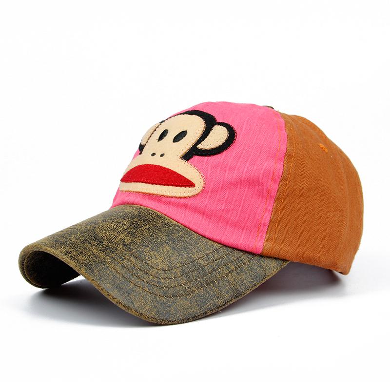 大嘴猴可爱卡通棒球帽子
