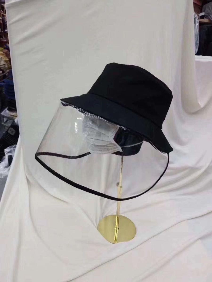 夏季流行防晒帽面部防护
