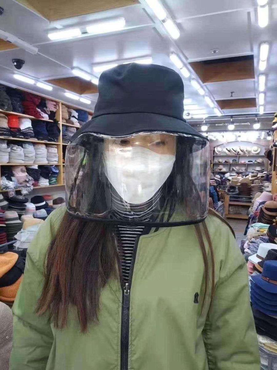 新品时尚潮帽面部防护