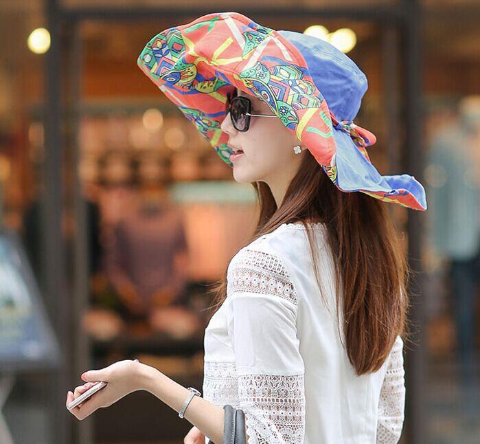 女士精美遮阳帽